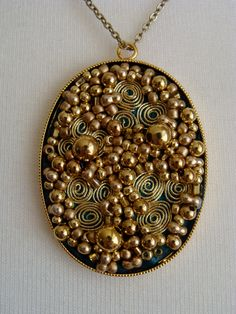 Embroidered Necklace by Grace Sheldrick. www.gracesheldrick.com