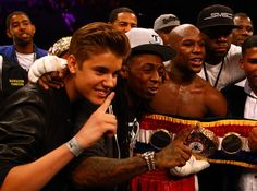 50 Cent and Floyd Mayweather Jr. - Miguel Cotto v Floyd Mayweather Jr.