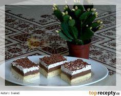Ledové řezy Czech Recipes, Russian Recipes, Ethnic Recipes, Tiramisu, Ale, Sweets, Desserts, Czech Food, Tailgate Desserts