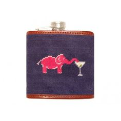 Elephant Martini Flask by Smathers & Branson