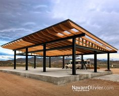 What Is Pergola Roofing Product Roof Design, House Design, Timber Frame Garage, Farm Plans, Carport Designs, Steel Frame Construction, Shed Homes, Earth Homes, Steel House