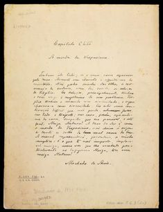 """Capítulo CLII : a moeda de Vespasiano : [fac-símile do manuscrito de Machado de Assis, pertencente a obra """"Memórias Póstumas de Brás Cubas""""] Pacheco, Joaquim Insley, 1830-1912 ([1884])"""