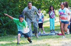 Soldiers of the Army Sustainment Command supported Casa Guanajuato Quad Cities Fiesta Camp at Rock Island Arsenal, Ill., on June 19, as part of a leadership-based field trip.
