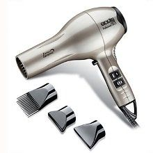$38.95-$40.33 Smooth, Silky Frizzie Free Styling! The ionic dryer breaks water molecule clusters into micro fine particles while penetrating the hair shaft. Moisture balance is restored and the hair cuticle is sealed. The results achieved with the ionic dryer are immediate. hair is renewed, repaired and revitalized for a softer, smoother, shinier finish.Even heat ceramic technology preserves natur ...