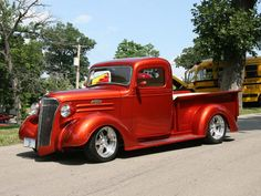 Classic Cars and stuff by Anjo Bacarisas, via Behance Hot Rod Pickup, Chevy Pickup Trucks, Chevy Pickups, Chevrolet Trucks, Lifted Trucks, Chevrolet Apache, Peterbilt Trucks, Hot Rod Trucks, New Trucks