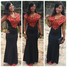 Check Out This Lovely Aso Ebi Gown Style http://www.dezangozone.com/2016/08/check-out-this-lovely-aso-ebi-gown-style_17.html
