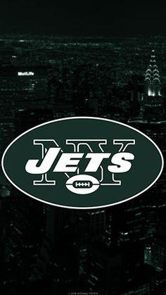 New York Jets Mobile City Team Logo Wallpaper