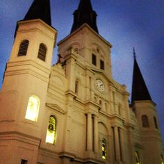 At Louis #cathedral #church in #neworleans #nola