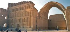 Architecture - Persian architecture was also influenced by the Romans. They adapted the arched constructions like the one in the image above.