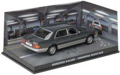 eaglemoss james bond car    Mercedes-Benz S-Class  | Mercedes Benz S Class Diecast Model Car from James Bond Tomorrow Never ...