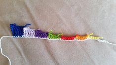 Hækling for begyndere med lette hækleopskrifter del 1 Friendship Bracelets, Knit Crochet, Panda, Knitting, Inspiration, Jewelry, Forslag, Scrappy Quilts, Threading