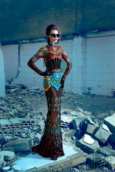 Nicolas Jebran Automne-hiver 2013-2014 - Haute couture - http://fr.flip-zone.com/fashion/couture-1/independant-designers/nicolas-jebran-4282