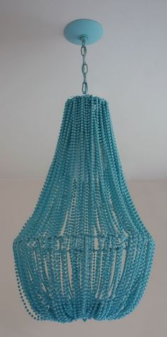 #beaded #chandelier. #DIY