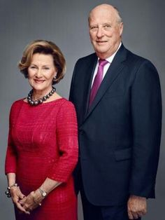 Queen Sonja and King Harald of Norway