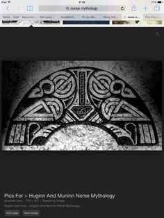 305 best huginn and muninn images on pinterest norse mythology