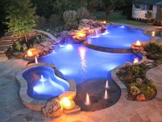 Indeed, there are lots of swimming pool ideas that may offer smart shape to save more space in the home. Therefore, it's tough to say that there's an ideal pool shape for smaller backyard. A little round pool has a… Continue Reading → Hot Tub Backyard, Backyard Pool Landscaping, Backyard Pool Designs, Backyard Playground, Swimming Pools Backyard, Swimming Pool Designs, Landscaping Tips, Backyard Ideas, Swimming Ponds