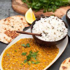 1-Topf Linsen Dal Rezept in nur 30 Minuten zubereitet. Du liebst indisch? Dann wird dir dieses vegane Hauptgericht schmecken und ist zudem unfassbar gesund.