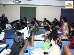 Teachers workshop at IIt Be Delhi, organized by avas india