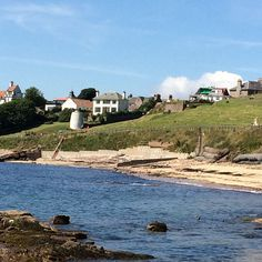 Crail in July | Flickr - Photo Sharing! Roome Bay, the Doocot and the beach
