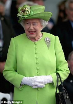 Much loved: The Queen took third place after the Duchess of Cambridge with 21 per cent of ...