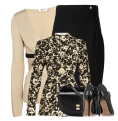 """""""Untitled #2746"""" by mrsdarlene ❤ liked on Polyvore featuring Valentino, Versace, Chloé and Givenchy"""