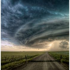 Tampico, MT Supercell.  My husband was with Sean R Heavey who took this photo on July 26, 2010.  We have this print hanging in our home.