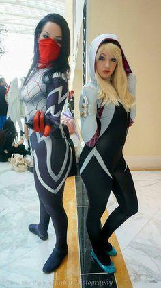 Silk and Spider-Gwen