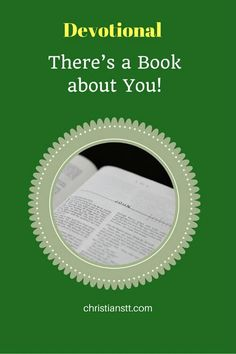 Devotional – There's a Book about You