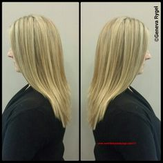 Blonde Hair. Long Hair Styles.