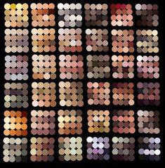 Digital Painting > Skin colors » Paleta para tons de pele - Wacom