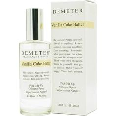 Demeter By Demeter Vanilla Cake Batter Cologne Spray 4 Oz