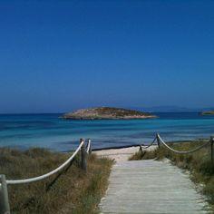 Formentera, camino al paraíso