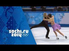 Meryl Davis & Charlie White Full Free Dance Performance Wins Gold   Sochi 2014 Winter Olympics - YouTube
