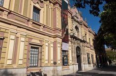 El Bellas Artes de #Sevilla inspira la portada de la #Feria.