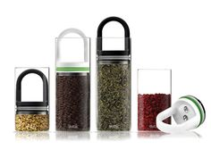 "EVAK- ""Food in, Air out"" Glass Food Storage Container by Pollen Design/ Ed Kilduff — Kickstarter"