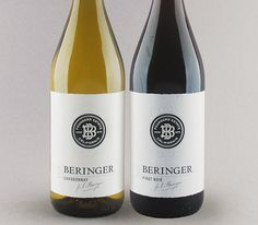 Duo Beringer Founder's Estate Pinot Noir + Chardonnay. Beringer also makes cheap versions of their wines that aren't bad for the price!