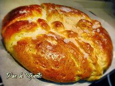Tarta de calabaza: Pan de Muerto