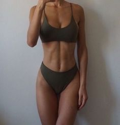 and fitness losing weight and fitness motivation and fitness planner and fitness workouts weight 10 pounds weight fat burning weight food Bikini Körper Inspiration Source by Crop Top Bikini, Crop Top Bathing Suit, Green Bikini Bottoms, Haut Bikini, Scrunch Bikini, Bikini Swimsuit, Retro Bathing Suits, Black Bikini, Workout Motivation
