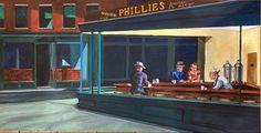 Edouard Hopper, American Art, Night, Universe, Paintings, Kunst, Paint, Painting Art, Cosmos
