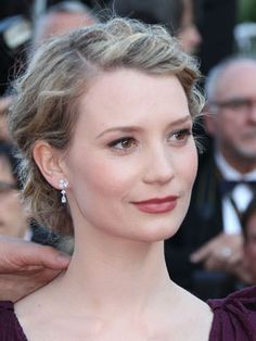 Mia Wasikowska. She has a certain elegance to her that makes her stand out from the rest.