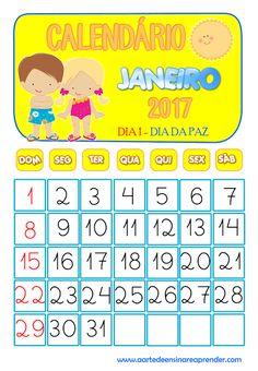 Calendários reformados - 2017