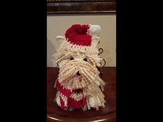 This video tutorial will show you how to make this adorable crochet westie amigurumi dog. You will amaze everyone with this cute crochet dog. Crochet Teddy, Cute Crochet, Crochet Toys, Diy Dog Toys, Crochet Dolls Free Patterns, Dog Clothes Patterns, Dog Pattern, Crochet Videos, Knitted Dolls