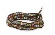 "21"" Multicolor Crystal Wrap Fashion Bracelet"