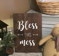 Bless this Mess Check out our $20 and under Farmhouse collection!!! Free shipping on all of our signs!  #20 #rustic #cute #diy #farmhouse #signs #custommade #new #popular #love #stain #perfect #homedecor #livingroomideas #kitchendesign