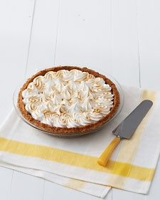 Key Lime Pie - i would sprinkle some coconut on top of the meringue or whipped cream