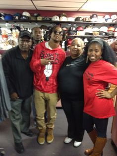New in stock now at shantinique music and sportswear 8933 harper ave my man lupe fiasco stop by for a in store today thanks to m4hsunfo