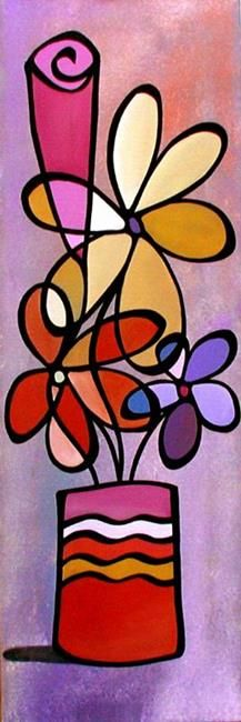 Art 'Inspiration - Floral 28' - by Thomas C. Fedro from Floral