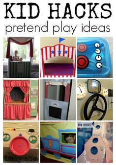If the weather outside is frightful, come play inside with these super fun, money saving and space saving play ideas! 30 ways to save space and money but still have fun! Turn up imaginative play with these awesome make at home activities! Craft Activities For Kids, Toddler Activities, Preschool Activities, Homeschool Kindergarten, Indoor Activities, Family Activities, Homeschooling, Creative Activities, Activity Ideas