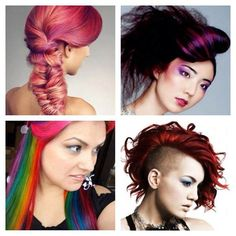 #Colors #DiffrentHairTexture #Fashion  http://whosin.com/hairstyle