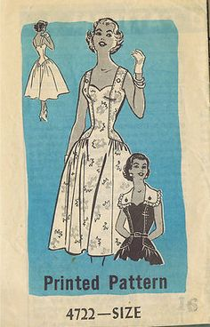 """SIZE 16-40 BUST 34-40 WAIST 24-34 HIP 35-43""""    VINTAGE 1940-1960's    4950 Dress with Scalloped Neckline Size 16 (UNCUT)  4277 Dart Fitted Long Torso Sun Dress Size 16 (UNCUT)  2390 Sweet Heart Blouse Size 18 (UNCUT)  3042 Pinafore and Bolero Size 18 (UNCUT)  4810 Anne Adams Full Square Neckline Dress and Shortie Jacket Size 20 (UNCUT)  4817 House Dress Size 20 (UNCUT)  2995 Sun Dress and Bolero Jacket  Size 40 (UNCUT)  4870 Infant Doll Wardrobe Sizes 10-30"""" Dolls (UNCUT)"""